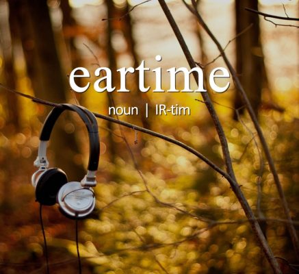 (n) (IR-tim) - The number of minutes, hours, days, months, and years you've spent listening to podcasts.