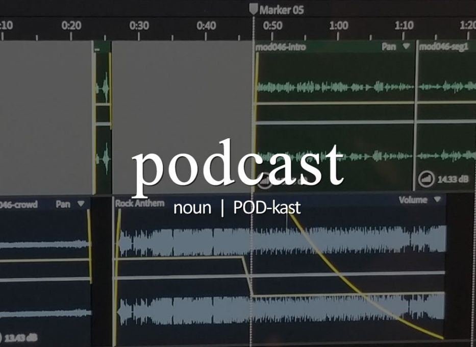 Today's Podword: podcast