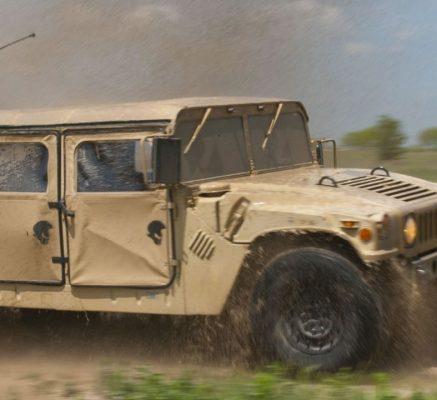 US Army National Guard HUMVEE School Program brought real-world adventure into high school classrooms.