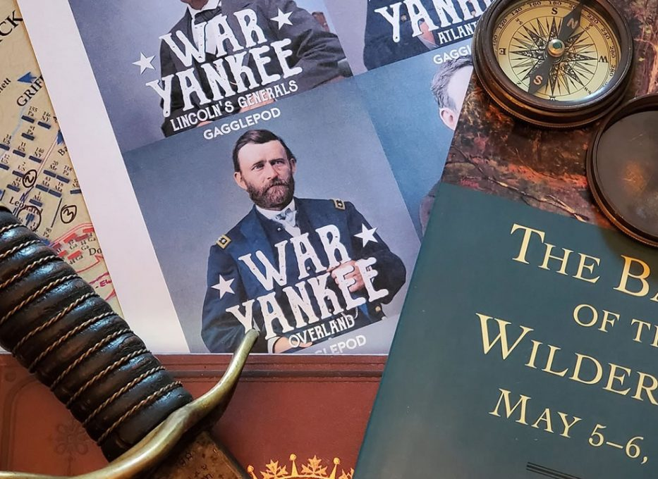 War Yankee - Overland is an American Civil War podcast about the Overland Campaign of 1864.